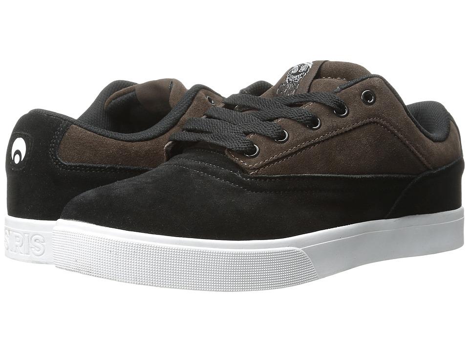 Osiris - Caswell VLC (Black/Brown/White) Men's Skate Shoes