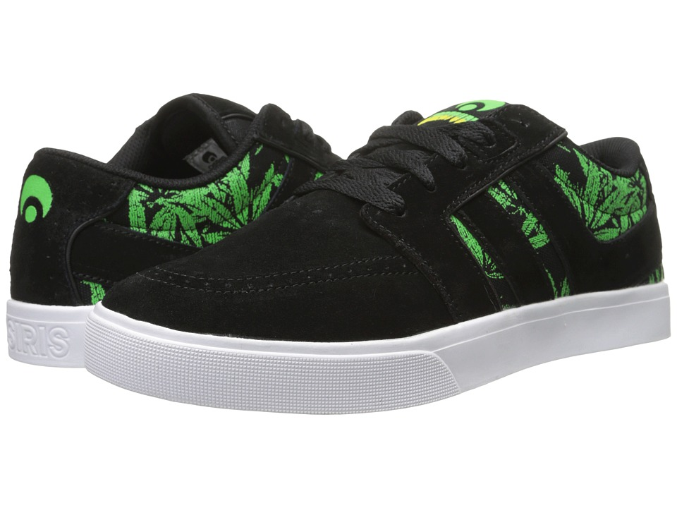 Osiris - Lumin (Black/Creature) Men's Skate Shoes