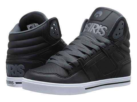 Osiris - Clone (Black/Black/Charcoal) Men