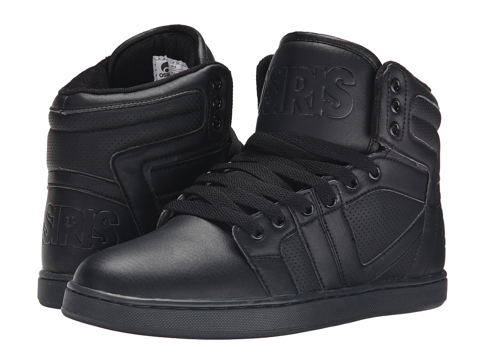 Osiris - Cthi (Black/Black/Black) Men's Skate Shoes