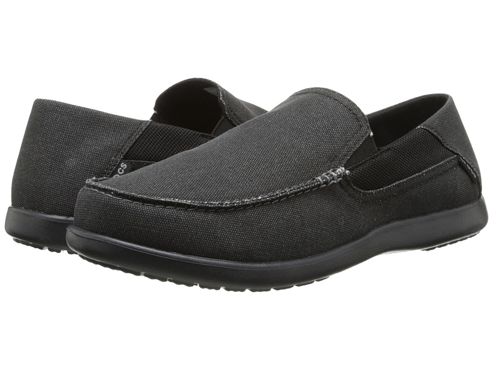 Crocs - Santa Cruz 2 Luxe (Black/Black) Men's Sandals