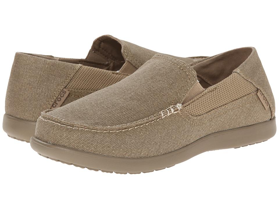 Crocs - Santa Cruz 2 Luxe (Khaki/Khaki) Men's Sandals