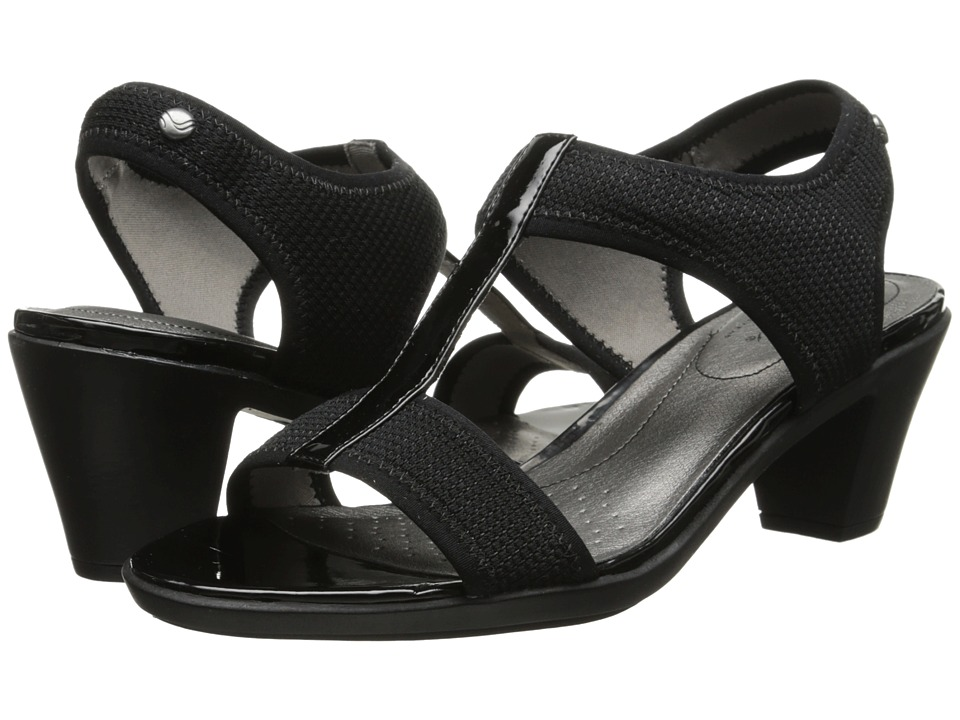 LifeStride - Carleigh (Black Mesh) Women's Shoes