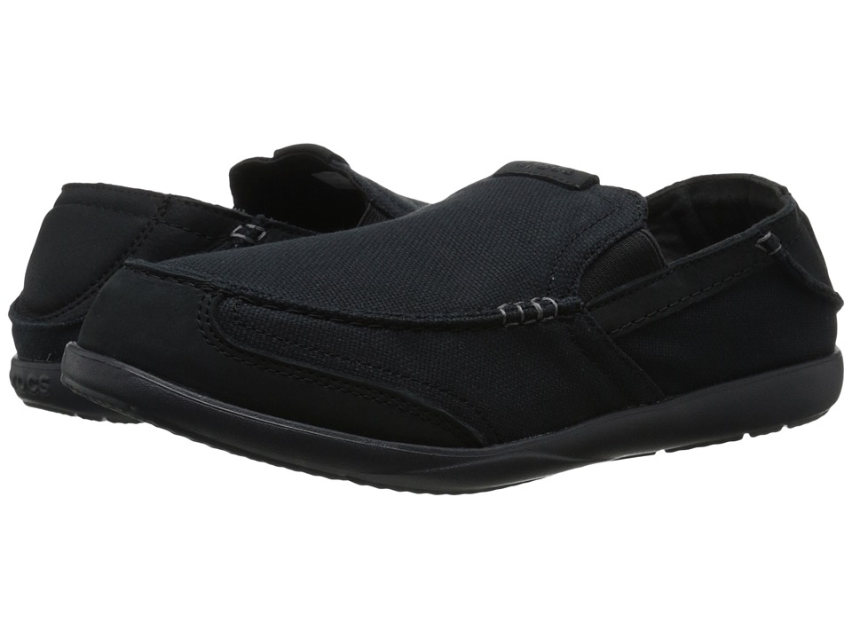 Crocs - Walu Express (Black/Black) Men