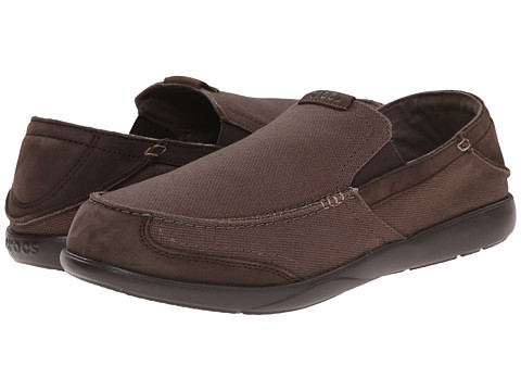 Crocs - Walu Express (Espresso/Espresso) Men's Slip on Shoes