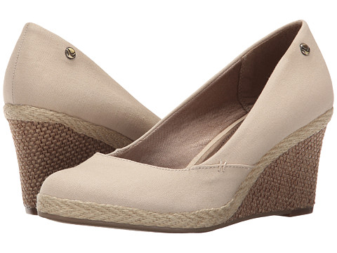 LifeStride - Clementine (Natural) Women's Wedge Shoes