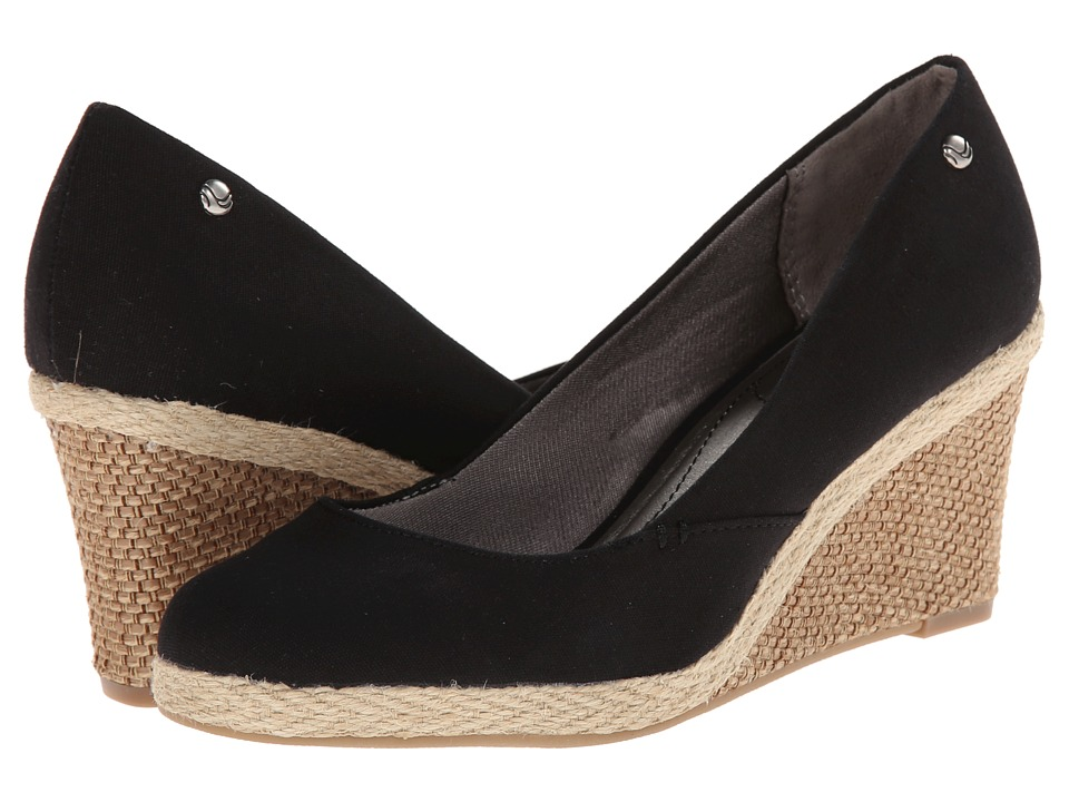 LifeStride - Clementine (Black 1) Women's Wedge Shoes