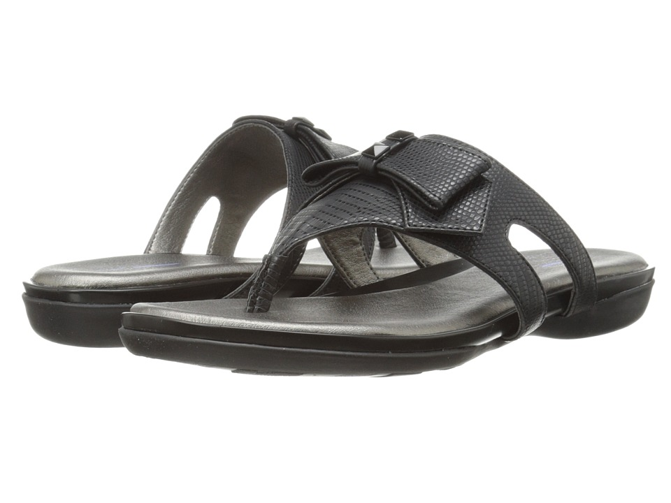 LifeStride - Ilsa (Black Cabrit) Women's Shoes