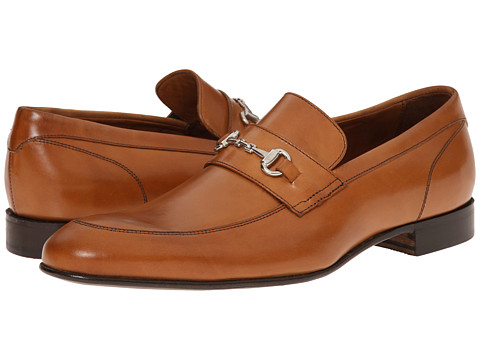 Massimo Matteo - Slip-on With Bit (Tan) Men