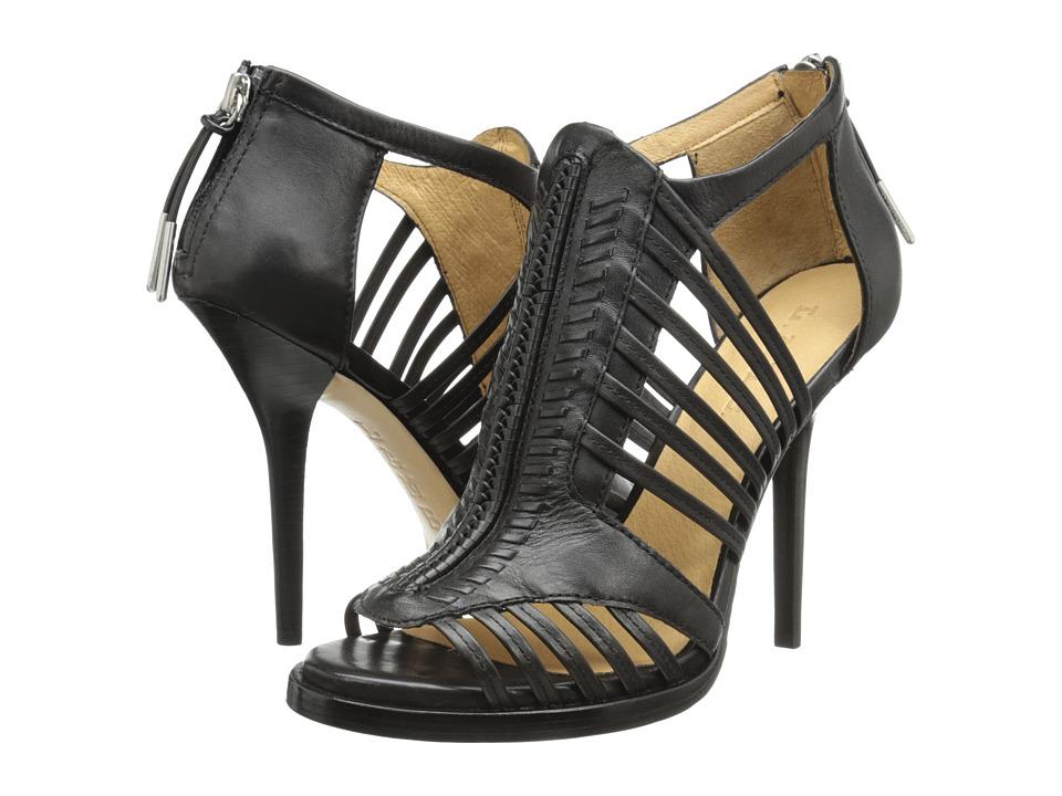 L.A.M.B. - Kamy (Black Leather) High Heels