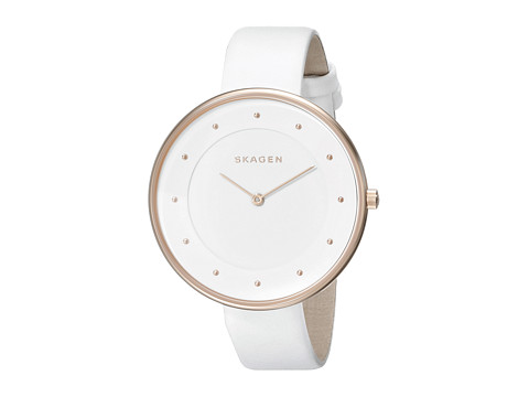 Skagen - Gitte (White) Analog Watches