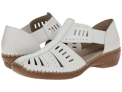 Rieker - D1608 Doris 08 (White) Women's Shoes