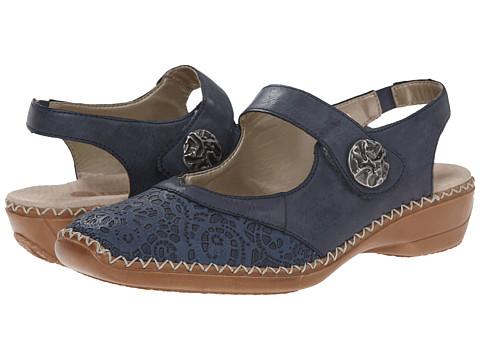 Rieker - D1624 Doris 24 (Royal/Ozean) Women's Shoes