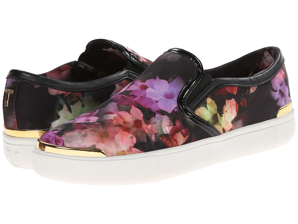 Ted Baker - Malbeck (Cascading Floral Textile) Women's Slip on Shoes