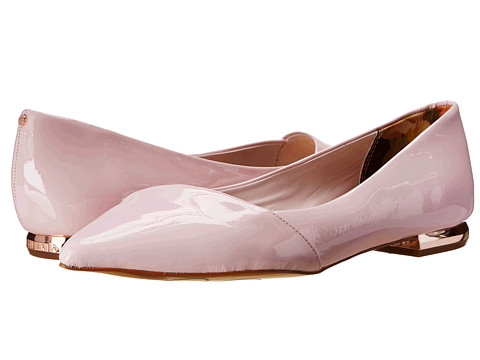 Ted Baker - Pasces (Light Pink Patent) Women's Dress Flat Shoes