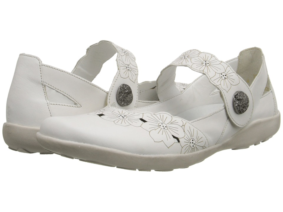 Rieker - R1727 Liv 27 (White) Women's Shoes