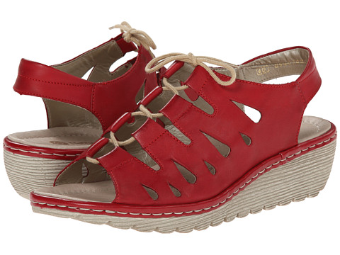 Rieker - R3760 Gretchen 60 (Rosso) Women's Shoes