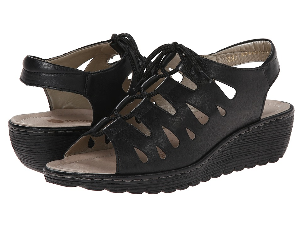 Rieker - R3760 Gretchen 60 (Black) Women's Shoes