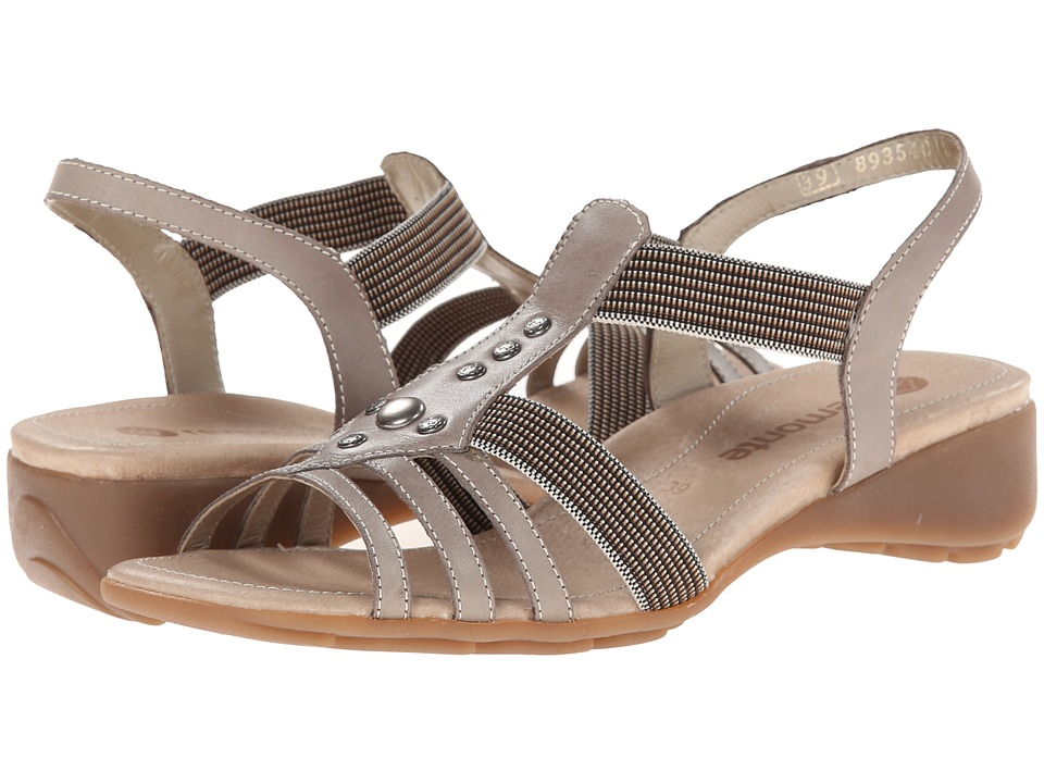 Rieker - Elea 04 (Whitedust/Terra) Women's Sandals