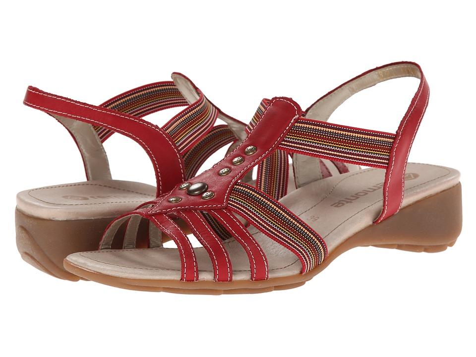 Rieker - Elea 04 (Rosso/Rot-Multi) Women's Sandals