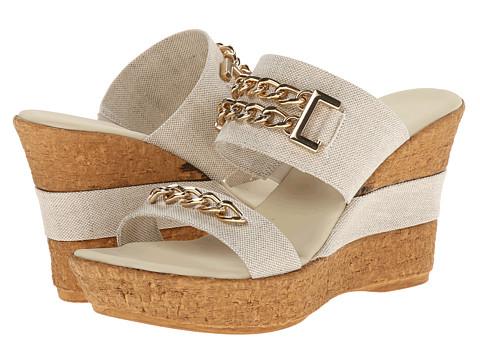 Onex - Adrianna (Natural) Women's Dress Sandals