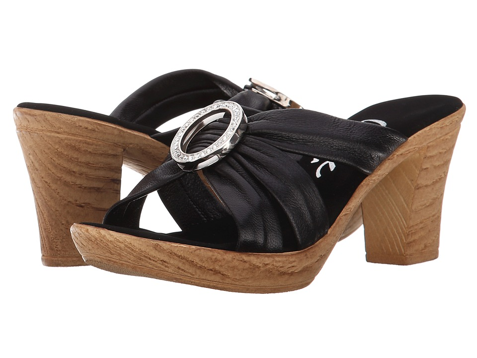 Onex - Libbie (Black/Silver) Women's Dress Sandals