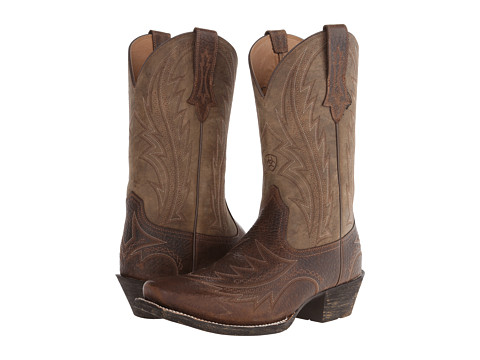 Ariat - Legend Rocker (Earth/Brown Bomber) Cowboy Boots