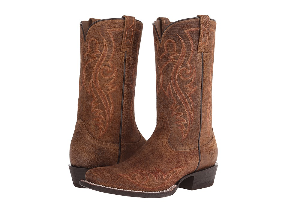Ariat - River Walk (Tan Oiled Gaucho) Cowboy Boots