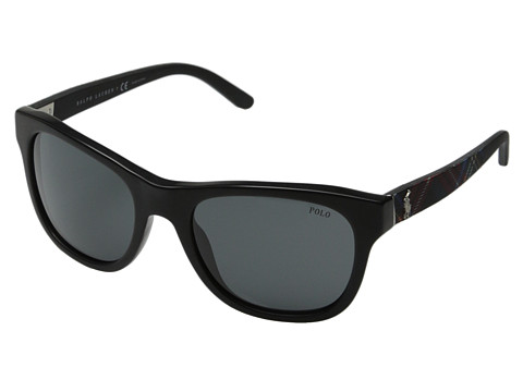 Polo Ralph Lauren - 0PH4091 (Black) Fashion Sunglasses