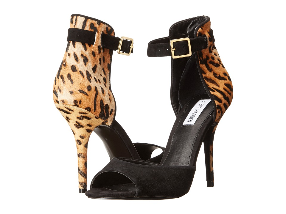 Steve Madden - Stepout (Black/Leopard) High Heels
