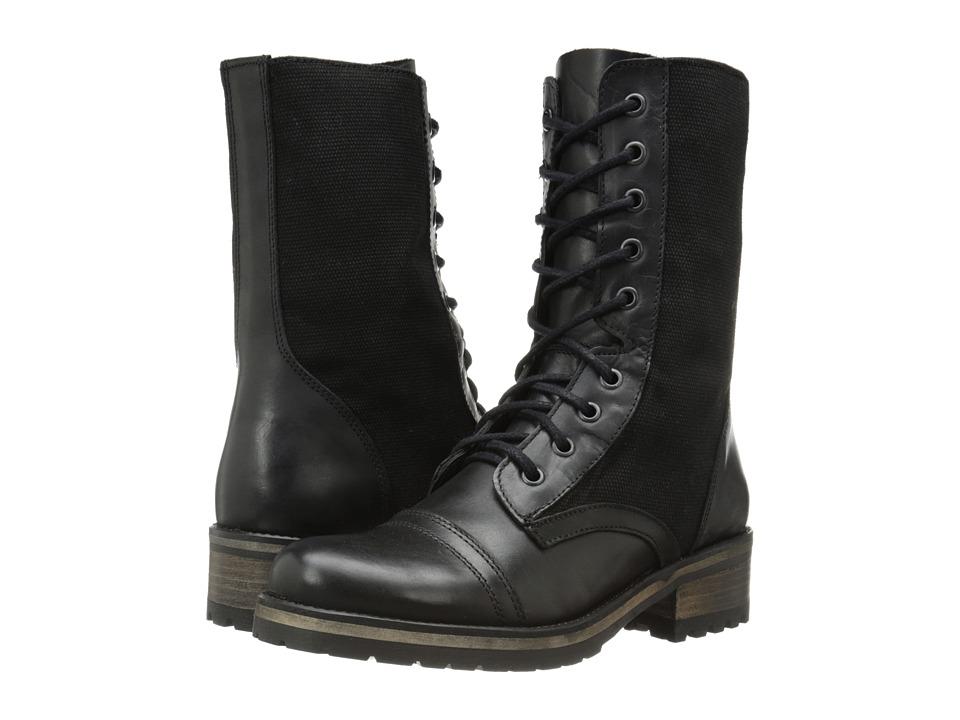Steve Madden - Cornnel (Black Leather) Women