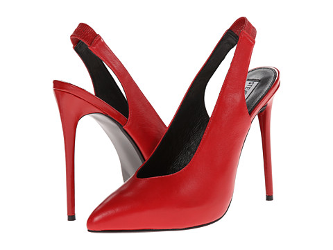 Steve Madden - Nici (Red Leather) High Heels