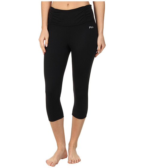 Fila - Capri w/ Key Holes (Black) Women's Capri