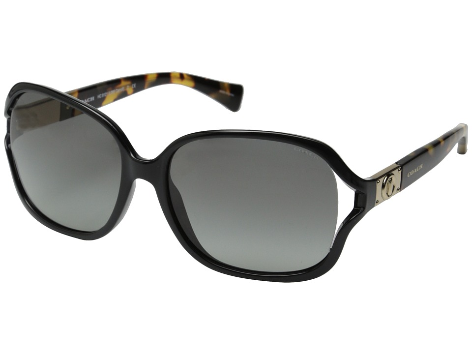 COACH - Carroll (Black) Fashion Sunglasses