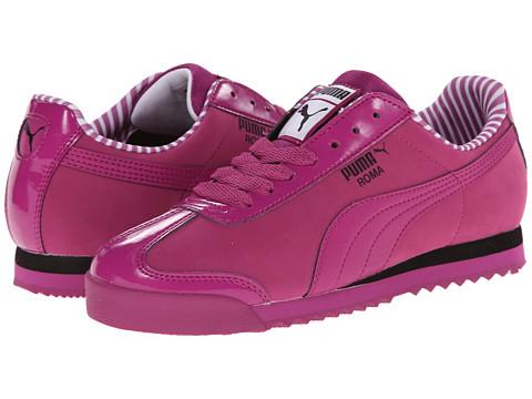 PUMA - Roma NBK Patent (Vivid Viola/White) Women's Shoes