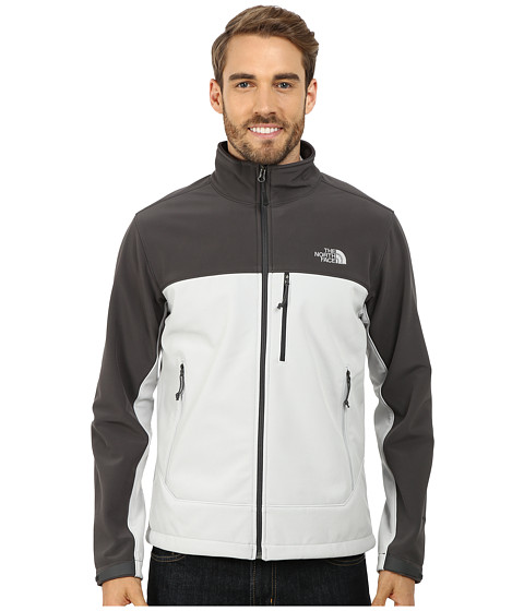 The North Face - Apex Bionic Jacket (High Rise Grey/Asphalt Grey) Men's Coat