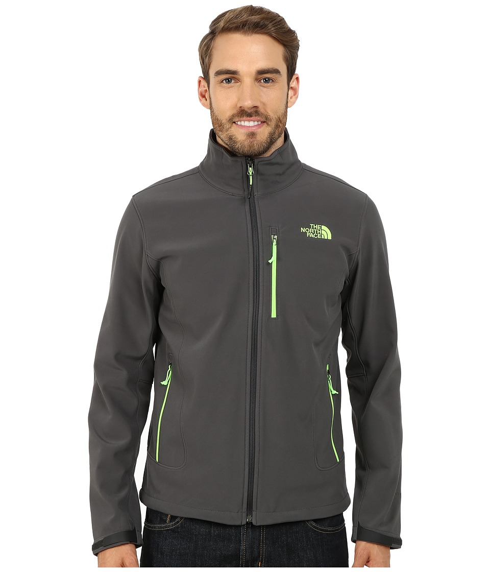 The North Face - Shellrock Jacket (Asphalt Grey/Power Green) Men's Jacket