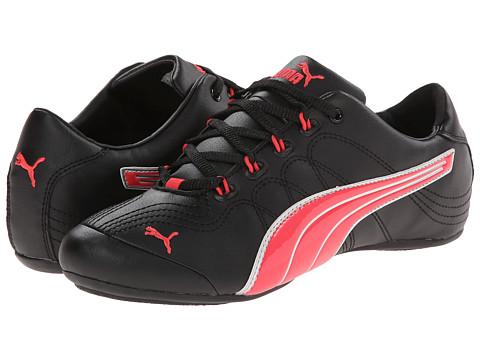 PUMA - Soleil v2 Patent (Black/Geranium/Puma Silver) Women's Shoes