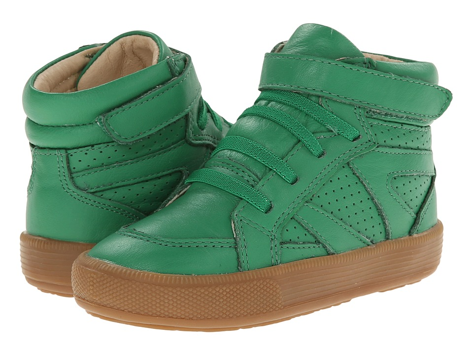 Old Soles - Star Jumper (Toddler/Little Kid) (Green) Boy's Shoes