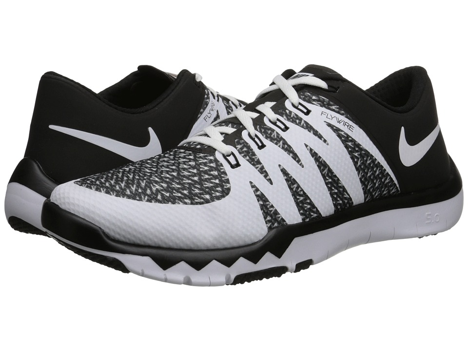Nike - Free Trainer 5.0 AMP (Black/Bright Crimson/White) Men's Cross Training Shoes