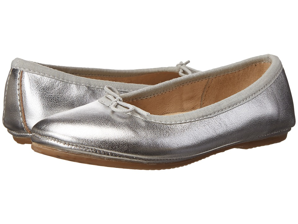 Old Soles - Cruise Ballet Flat (Toddler/Little Kid) (Silver) Girls Shoes