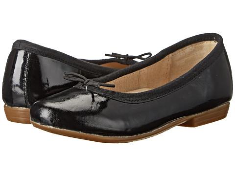 Old Soles - Brule Shoe (Toddler/Little Kid) (Black Patent) Girl