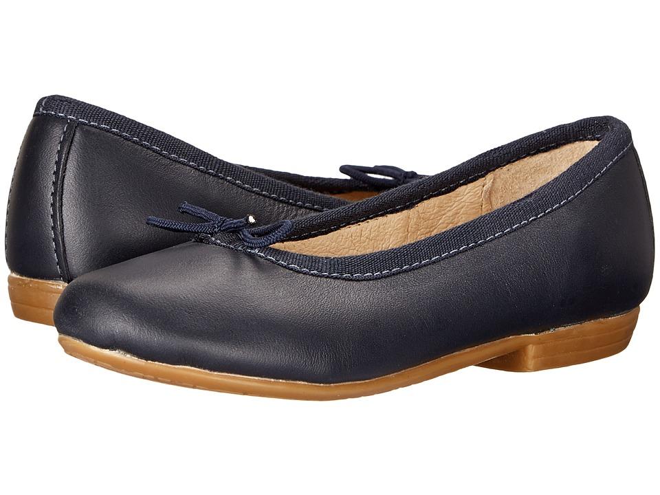 Old Soles - Brule Shoe (Toddler/Little Kid) (Navy) Girl's Shoes