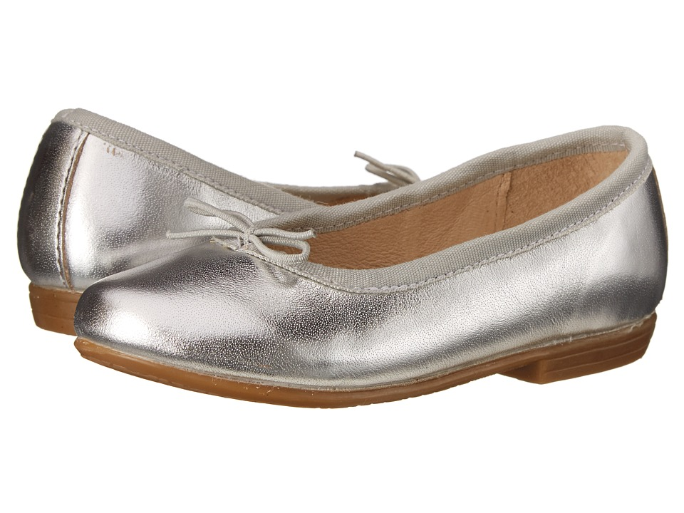 Image of Old Soles - Brule Shoe (Toddler/Little Kid) (Silver) Girl's Shoes