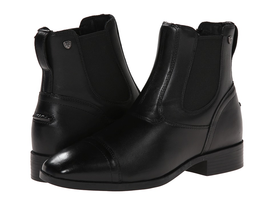 Ariat - Challenge Square Toe Dress Paddock (Black) Women's Pull-on Boots