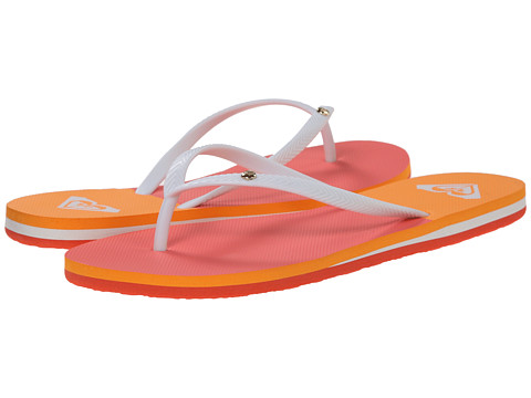 Roxy - Bermuda (Coral) Women's Sandals