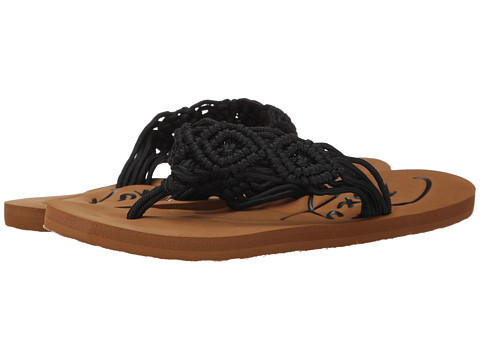 Roxy - Guinea (Black) Women's Sandals