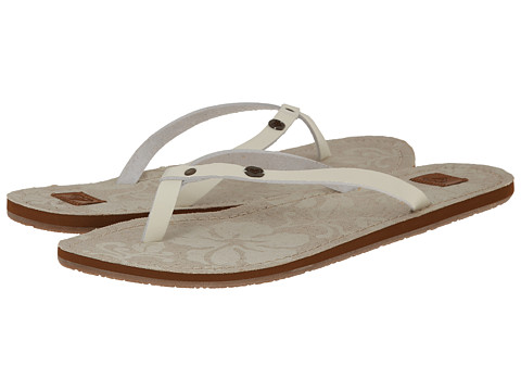 Roxy - Tunisia (Cream) Women's Sandals