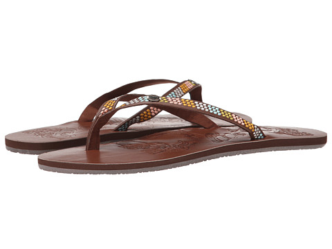 Roxy - Chia II (Chocolate Brown) Women's Sandals