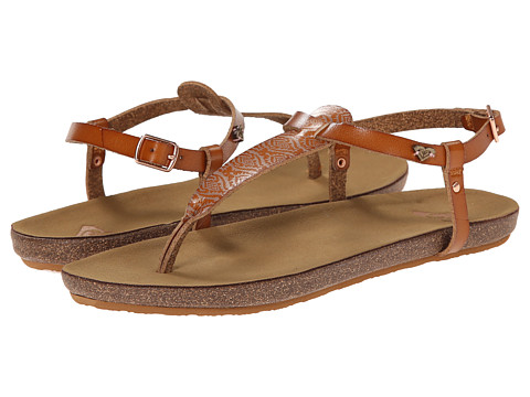 Roxy - Stinson (Rose Gold) Women's Sandals